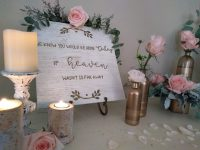 heaven memory table sign
